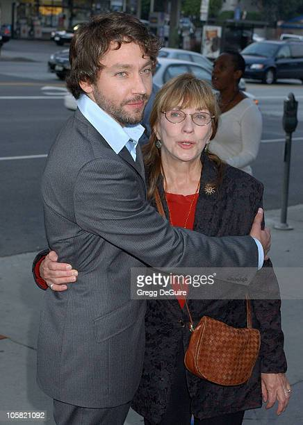 Michael Weston and mom Judi West during The Last Kiss Los Angeles Premiere Arrivals at Directors Guild of America in Hollywood California United...