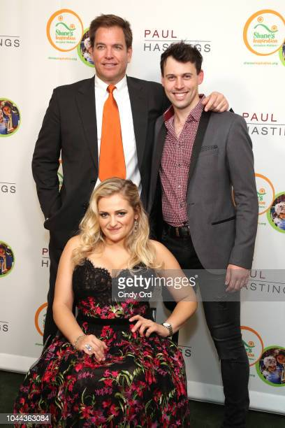 Michael Wetherly Ali Stroker and Evan Ruggiero attend Broadway's Best Comes Together To Salute Chita Rivera At Touch The Sky A Benefit To Build NY's...