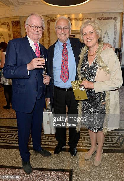 Michael Whitehall Roy Hudd and Hilary Whitehall attend the University of Westminster's Regent Street Cinema Gala to celebrate cinema's reopening at...
