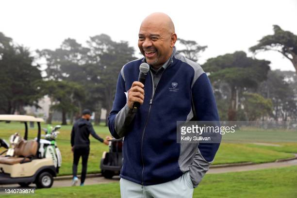 Michael Wilbon attends The Workday Charity Classic, hosted by Stephen and Ayesha Curry's Eat. Learn. Play. And Workday, at Franklin Elementary School...