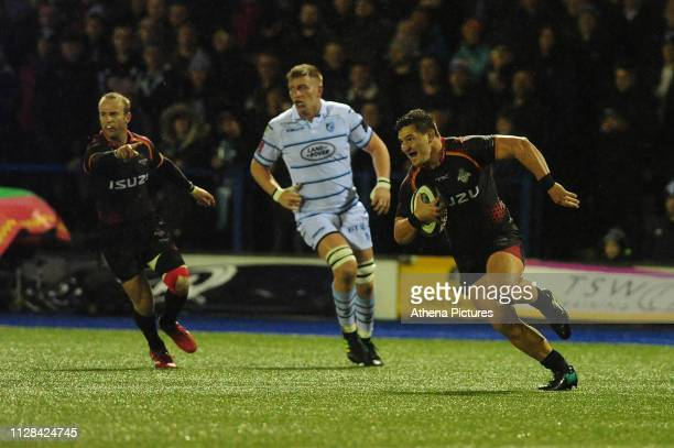 Michael Willemse of Southern Kings in action during the Guinness Pro14 Round 17 match between Cardiff Blues and Isuzu Southern Kings at the Cardiff...