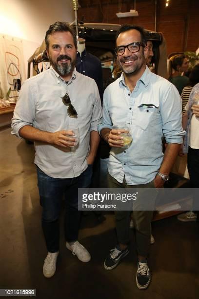 Michael Williams and Sinuhe Xavier attend Joe's Blackbook x Alchemy Works Salon No 2 Sustainability at Alchemy Works on August 22 2018 in Los Angeles...