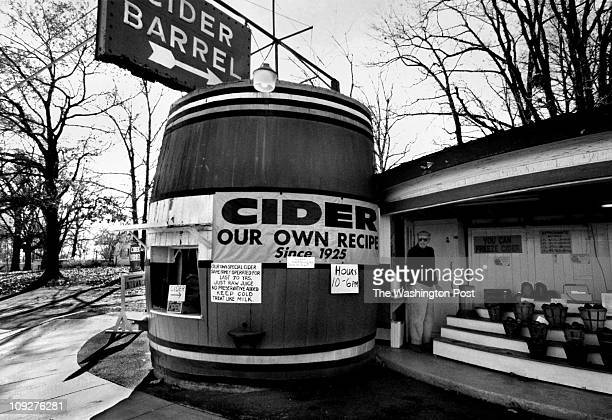Michael Williamson/TWP Rockville Pike Montgomery County Maryland Life and Commerce on the Pike The Cider Barrel is an historic building in Germantown...