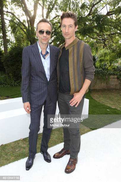 Michael Wincott and Benn Northover attend the Berluti show as part of the Paris Fashion Week Menswear Spring/Summer 2015 on June 27 2014 in Paris...