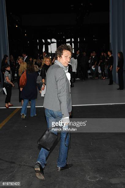 Michael Wincott attends CHANEL Cruise Show LA Arrivals at Santa Monica Airport on May 18 2007 in Santa Monica CA