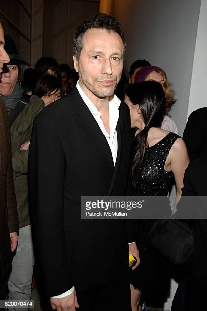 Michael Wincott attends GAGOSIAN GALLERY Exhibition for JULIAN SCHNABEL at Gagosian Gallery on February 21 2008 in Beverly Hills CA