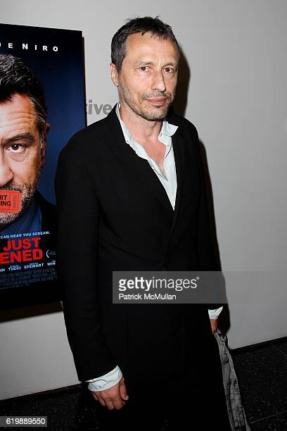 Michael Wincott attends New York Premiere of Magnolia Pictures SOMETHING JUST HAPPENED at Moma/21 Club on October 1 2008 in New York City