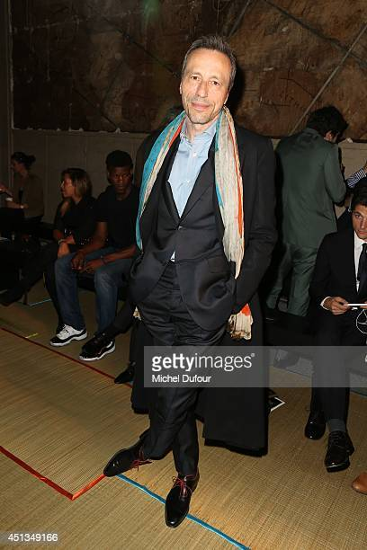 Michael Wincott attends the Cerruti show as part of the Paris Fashion Week Menswear Spring/Summer 2015 on June 27 2014 in Paris France