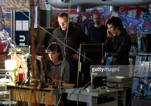 Michael Wincott Branko Tomovic and Mary Lynn Rajskub in the '100 PM 200 PM' episode of 24 LIVE ANOTHER DAY airing Monday May 12 2014 on FOX