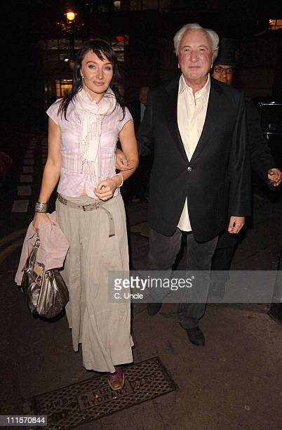 Michael Winner and guest during Michael Winner Sighting at the Ivy Restaurant in London November 14 2005 at The Ivy Restaurant in London Great Britain