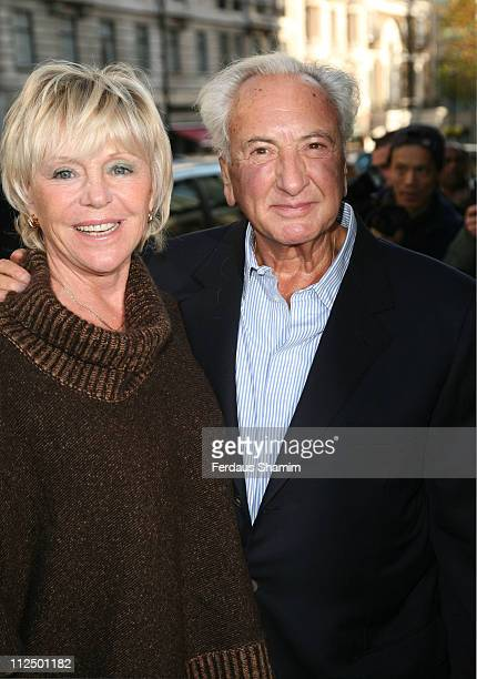 Michael Winner and guest during The Old Vic Fundraiser VIP Lunch Arrivals at Fifty in London Great Britain