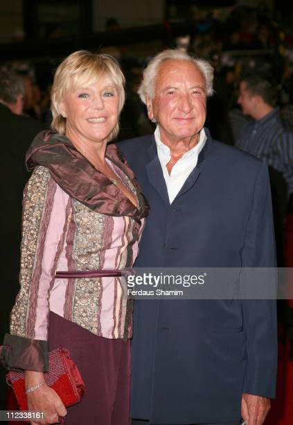 Michael Winner and guest during The Prestige London Premiere Arrivals at Odeon West End in London Great Britain