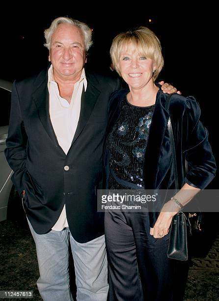 Michael Winner and wife during Launch of Paul McKennas Change Your Life in Seven Days Arrivals at Cavendish Square in London Great Britain