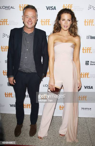 Michael Winterbottom and Kate Beckinsale arrive at the premiere of The Face of an Angel held during the 2014 Toronto International Film Festival Day...