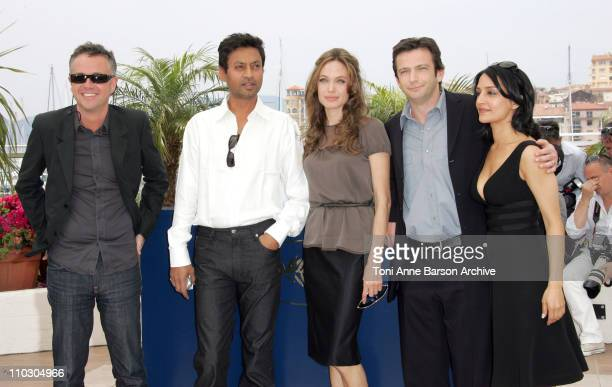 Michael Winterbottom Archie Panjabi Angelina Jolie Dan Futterman and Irrfan Khan