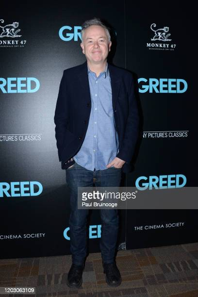 "Michael Winterbottom attends The Cinema Society & Monkey 47 Host A Special Screening Of Sony Pictures Classics' ""Greed"" at Cinepolis Chelsea on..."