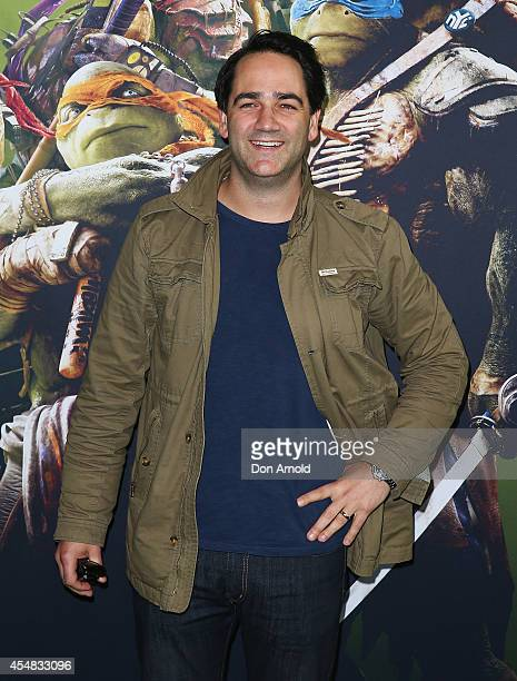 Michael Wipfli arrives at the Sydney Premiere of Teenage Mutant Ninja Turtles at The Entertainment Quarter on September 7 2014 in Sydney Australia