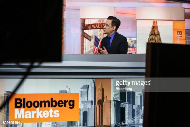 Michael Wolf cofounder and managing director of Activate speaks during a Bloomberg Television interview in New York US on Wednesday Aug 2 2017 Wolf...
