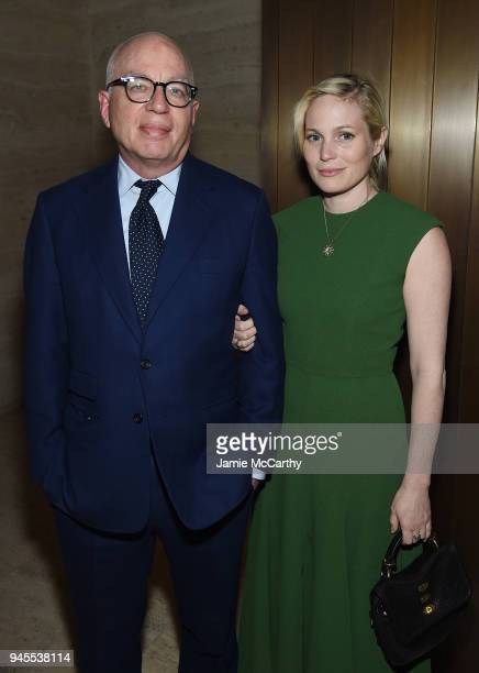 Michael Wolff attends The Hollywood Reporter's Most Powerful People In Media 2018 at The Pool on April 12 2018 in New York City