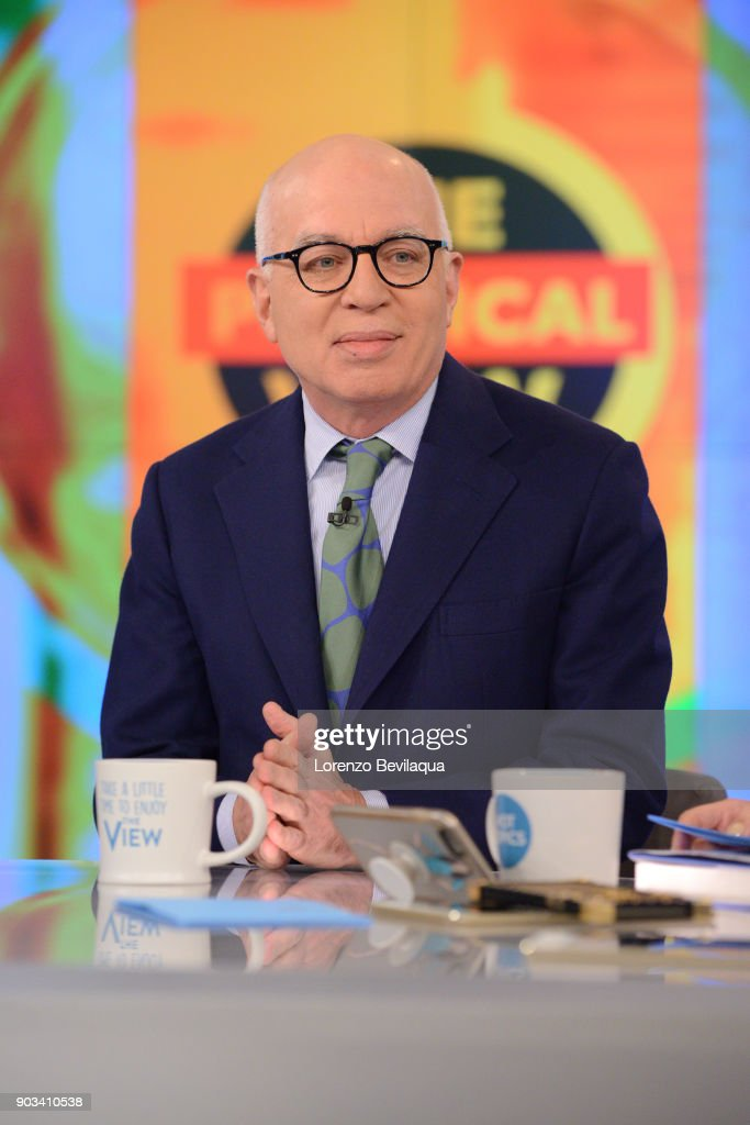 THE VIEW - Michael Wolff, author of 'Fire and Fury,' is a guest on 'The View,' Wednesday, January 10, 2018. 'The View' airs Monday-Friday (11:00 am-12:00 pm, ET) on the ABC Television Network. WOLFF