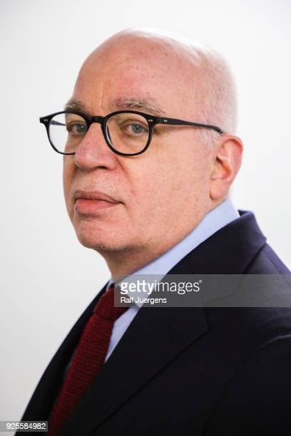 Michael Wolff during the reading of his book 'Fire and Fury Inside the Trump White House' at the litcologne on February 28 2018 in Cologne Germany