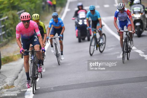 Michael Woods of Canada and Team EF Education First / Adam Yates of United Kingdom and Team Mitchelton Scott / Superga / during the 100th Milano...