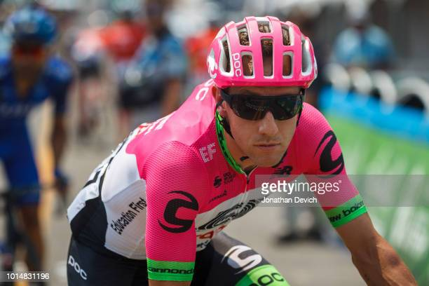 Michael Woods of Canada and Team EF Education First Drapac P/B Cannondale rolls to the start line of stage 4 of the 14th Larry H Miller Tour of Utah...