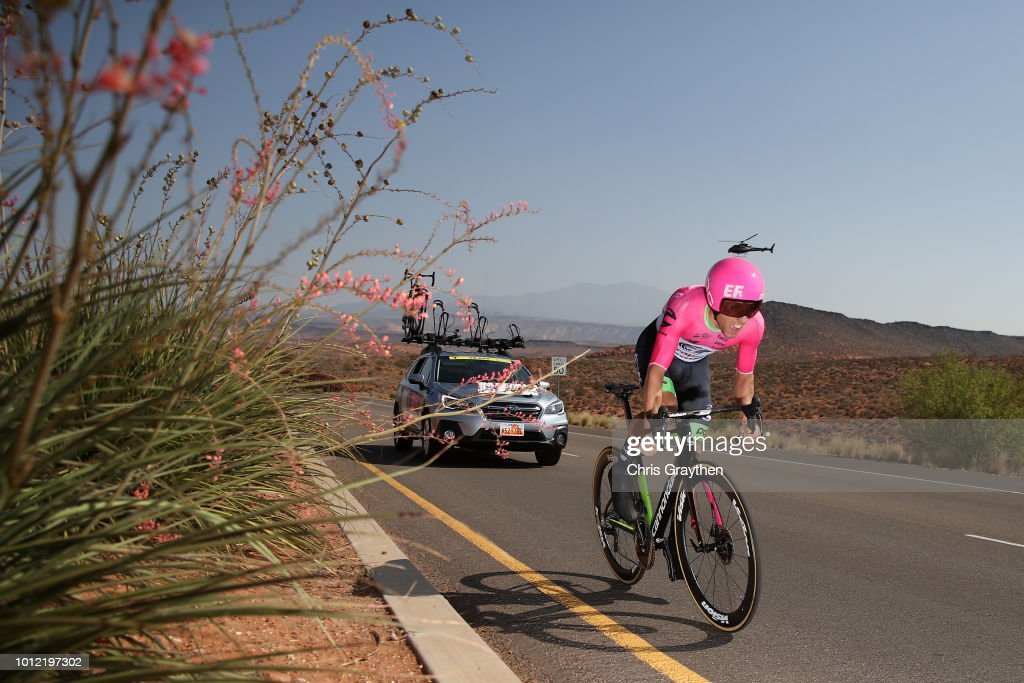 Michael Woods of Canada and Team EF Education First-Drapac p/b Cannondale / during the 14th Larry H. Miller Tour of Utah, Prologue a 5,3km Individual Time Trial Stage from St George to St George / ITT / TOU / on August 6, 2018 in St George, Utah.