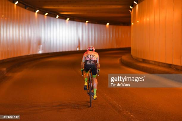 Michael Woods of Canada and Team EF Education First-Drapac p/b Cannondale / Tunnel / during the 101st Tour of Italy 2018, Stage 20 a 214km stage from...