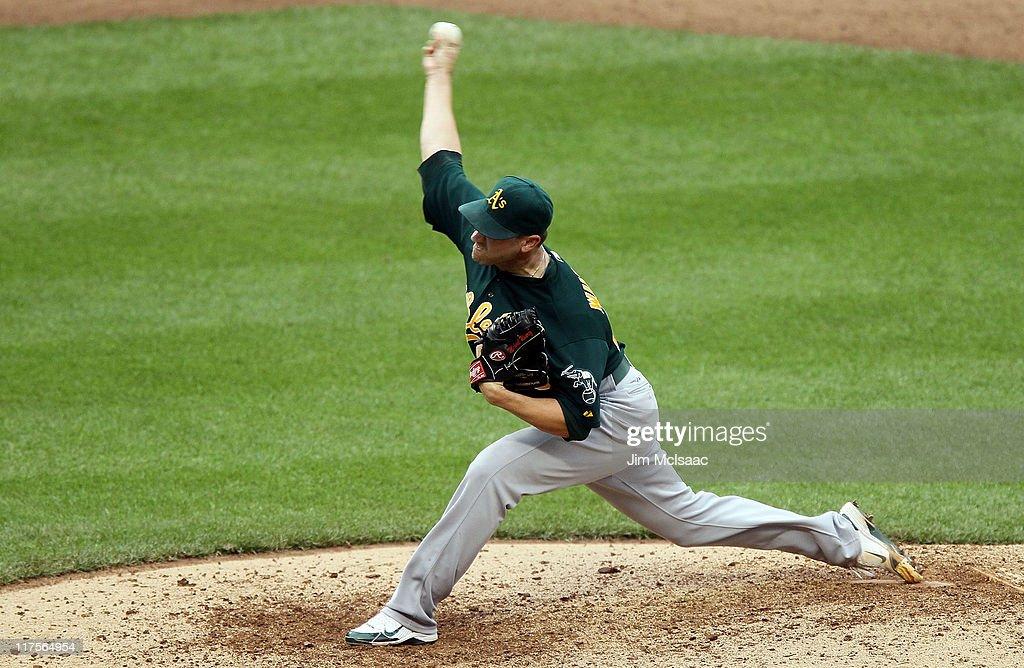 Oakland Athletics v New York Mets