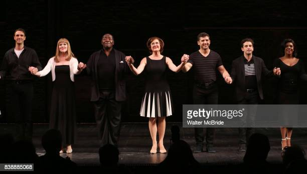 Michael Xavier Emily Skinner Chuck Cooper Karen Ziemba Tony Yazbeck Brandon Uranowitz Bryonha Marie Parham during the Broadway Opening Night...