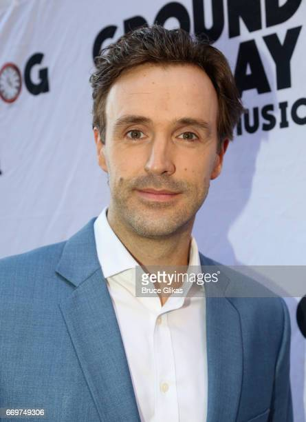 Michael Xavier poses at the opening night of the new musical based on the film Groundhog Day on Broadway at The August Wilson Theatre on April 17...