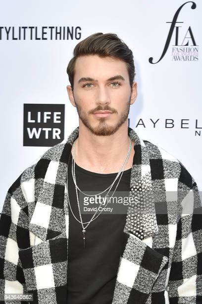 Michael Yerger attends The Daily Front Row's 4th Annual Fashion Los Angeles Awards Arrivals at The Beverly Hills Hotel on April 8 2018 in Beverly...