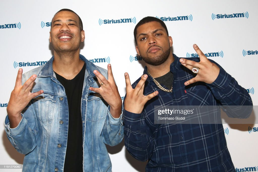 CA: Celebrities Visit The SiriusXM Studios In Los Angeles