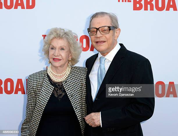 Michael York and his wife Patricia York attend The Broad museum's inaugural celebration September 18 in Los Angeles California