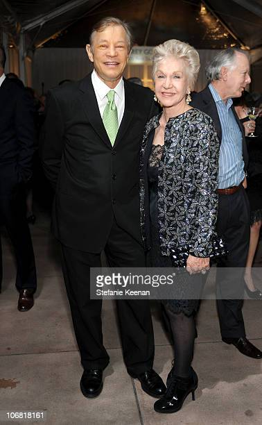 Michael York and Pat York attend The Artist's Museum Happening MOCA Los Angeles Gala sponsored by Chanel Fine Jewelry cocktail reception held at MOCA...