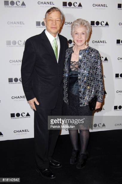 Michael York and Pat York attend The Museum Of Contemporary Art Los Angeles and Chanel Fine Jewelry present THE ARTIST'S MUSEUM HAPPENING at MOCA on...
