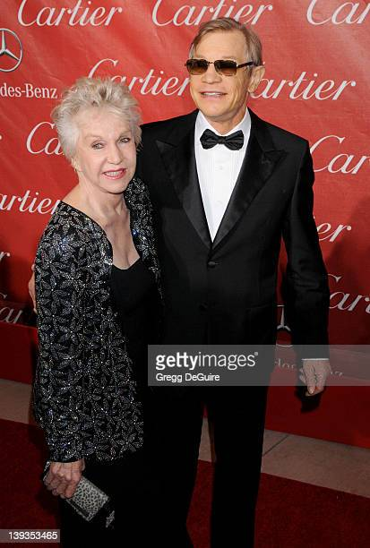 Michael York and Patricia McCallum arrive at the 2011 Palm Springs International Film Festival Awards Gala Presented by Cartier at the Palm Springs...