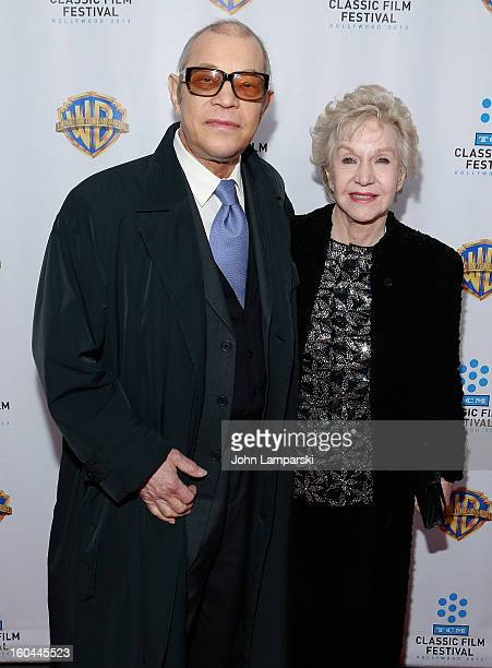 Michael York and Patricia York attend Cabaret 40th Anniversary New York Screening at Ziegfeld Theatre on January 31 2013 in New York City