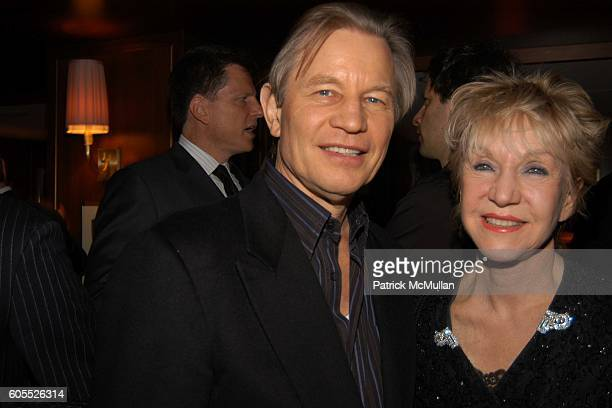 Michael York and Patricia York attend VANITY FAIR Pre Golden Globes Party at Sunset Tower Hotel on January 15 2006 in West Hollywood CA