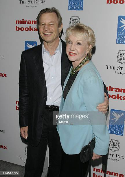 """Michael York and wife during Benefit Book Launch For Sandra Lee's """"Semi-Homemade Dessert's"""" at The St. Regis Hotel in Los Angeles, California, United..."""