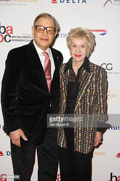 Michael York and wife Pat York attend The British American Business Council Los Angeles 55th Annual Christmas Luncheon at Fairmont Miramar Hotel on...