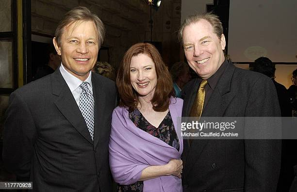 Michael York, Annette O'Toole and Michael McKean during Global Vision for Peace and The United Nations Launch Artists for The United Nations at Lloyd...