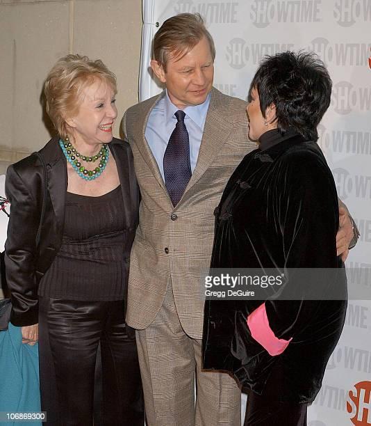 Michael York wife Patricia McCallum and Liza Minnelli