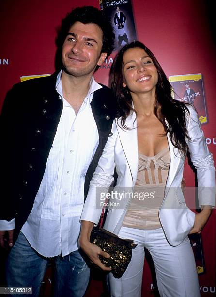 Michael Youn and Elsa Pataky during 'Pluskapoil' DVD Launch Party November 2 2005 at Cabaret Clichy Blanche in Paris France