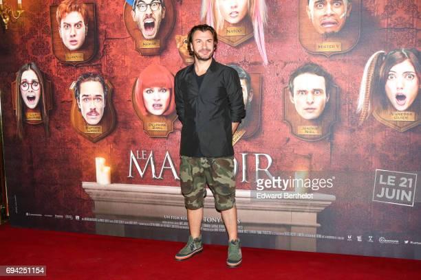 Michael Youn during the 'Le Manoir' Paris Premiere photocall at Le Grand Rex on June 9 2017 in Paris France