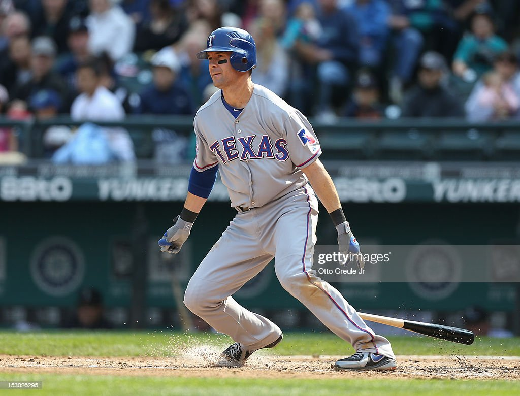 Texas Rangers v Seattle Mariners : ニュース写真