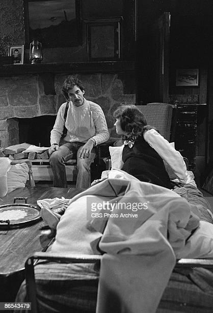 LIGHT Michael Zaslow as Roger Thorpe and Lenore Kasdorf as Rita Stapleton Bauer Image dated February 11 1980