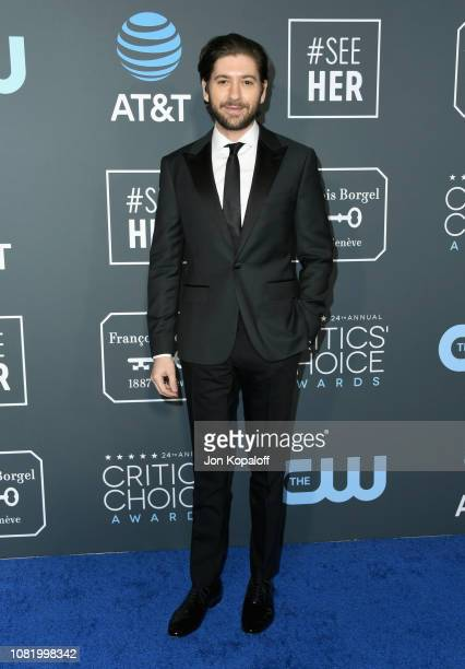 Michael Zegen attends the 24th annual Critics' Choice Awards at Barker Hangar on January 13 2019 in Santa Monica California