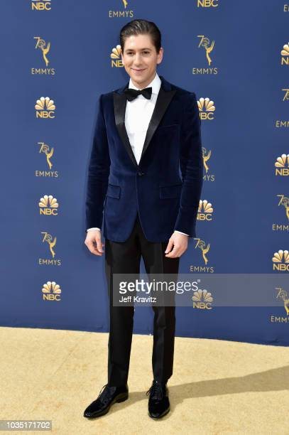 Michael Zegen attends the 70th Emmy Awards at Microsoft Theater on September 17 2018 in Los Angeles California